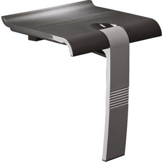 Anthracite grey shower seat