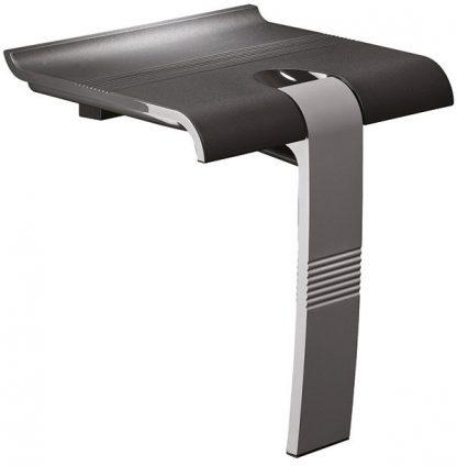 Anthracite grey shower seat