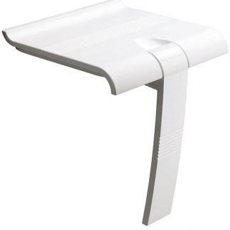 White Shower Seat