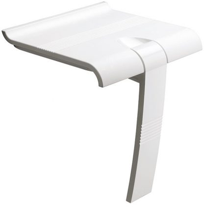 White Shower Seat