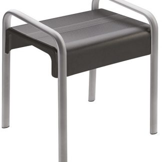 Grey Shower Stool