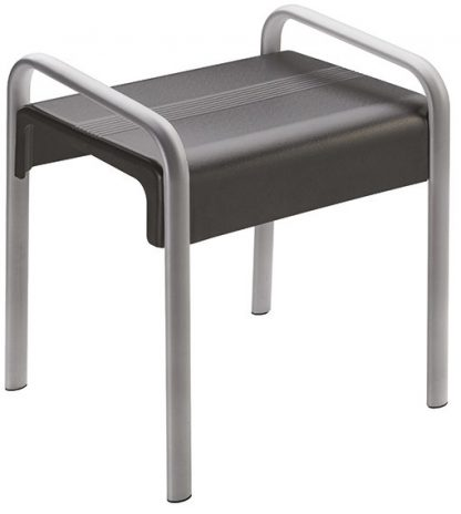 Grey Shower Stool