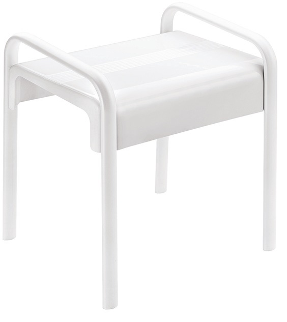 c36d3b38bb4 White Shower Stool Arsis Mobility