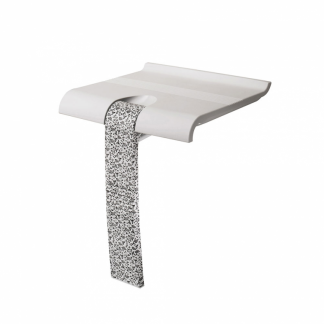 Baroque Shower Seat White Arsis Fantasy