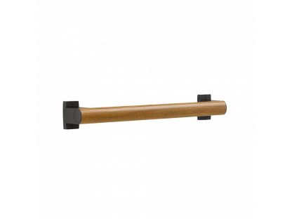 Wood Grey Grab Bar