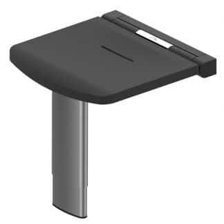 Black Onyx Height Adjustable Shower Seat